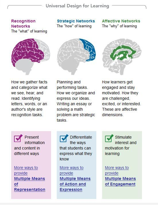 Universal Design For Learning Flipped Classroom Brain Based Learning Instructional Design