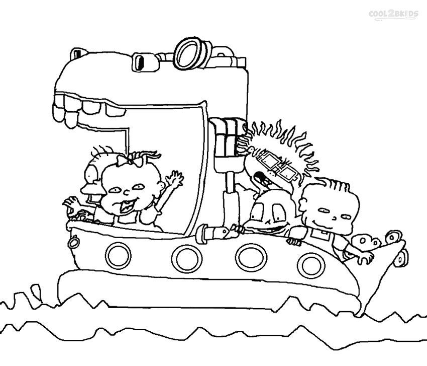 Printable Rugrats Coloring Pages For Kids | Cool2bKids | Cartoon ...