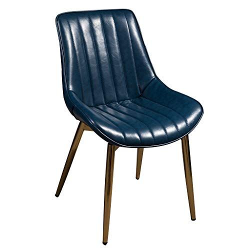PU Leather Dining Chair - Nordic Kitchen Chairs with ...