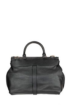 See by Chloé - Sac - Besace cuir noire Lizzie  1e17fe32d36