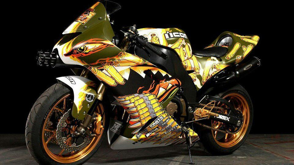 Awesome Motorcycle Paint Jobs