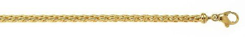 14k Yellow Wheat 3.1mm High Polish Chain Bracelet - JewelryWeb JewelryWeb. $644.90. Save 50%!