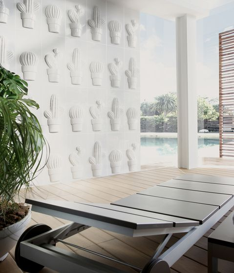 Clay Terrace Apartments: Blanco Brillo De VIVES Cerámica