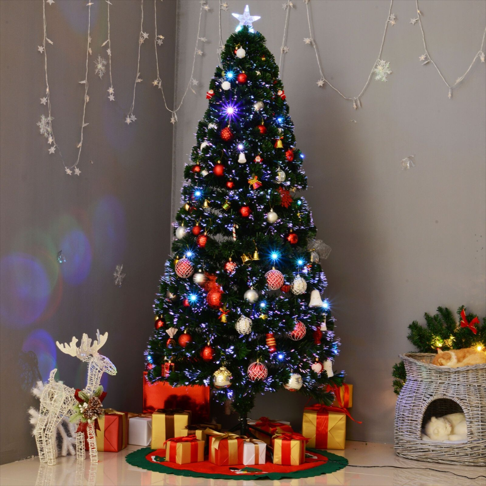 Fiber Optic Christmas Decorations Wild Country Fine Arts