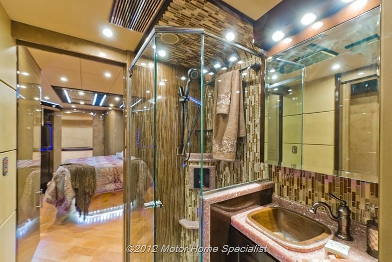 Ultimate luxury rv bathroom hauterv luxury roadzies for Ultimate bathrooms