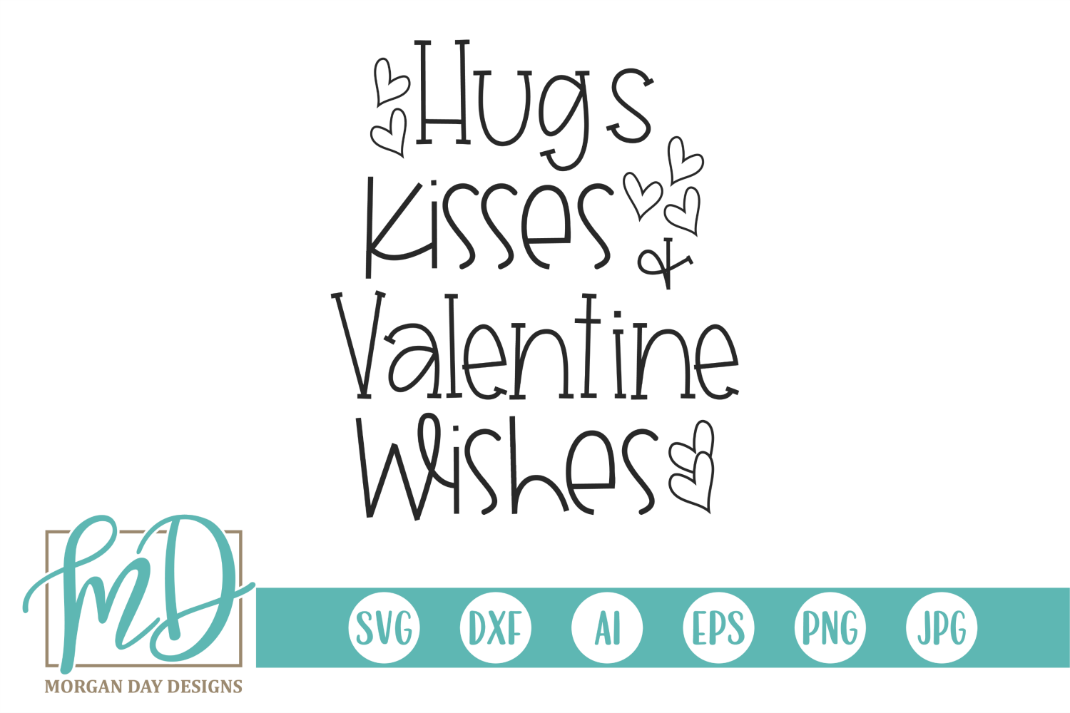 Download Hugs Kisses And Valentine Wishes | Valentine wishes, Print ...