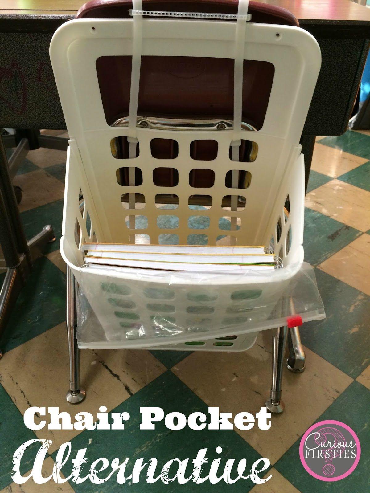 Chair Pocket Alternative   Chair pockets, School chair
