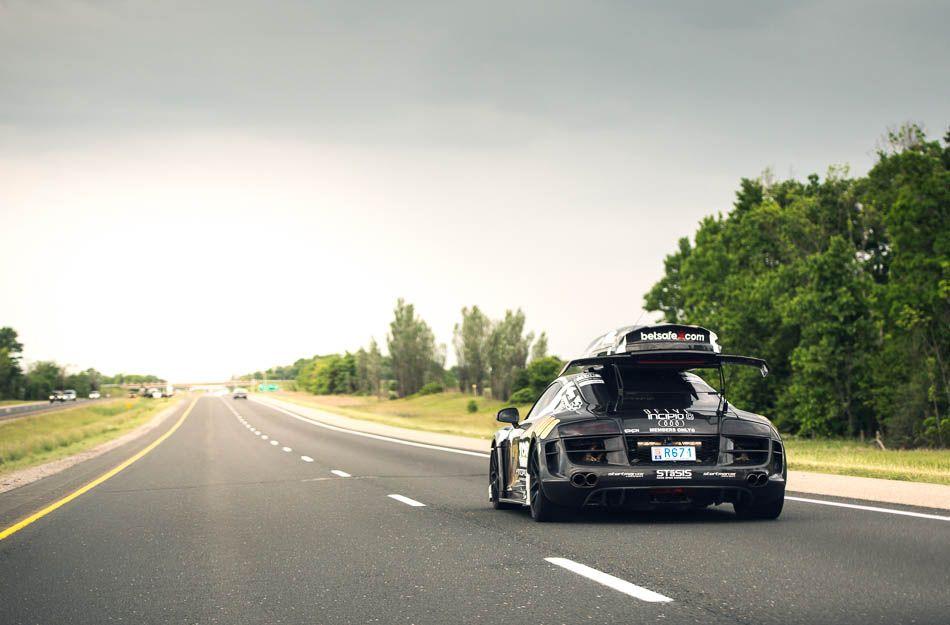Jon Olsson S Insane Audi R8 Stasis Ppi Razor Gtr Gumball 3000
