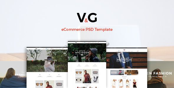 VG - eCommerce PSD Template