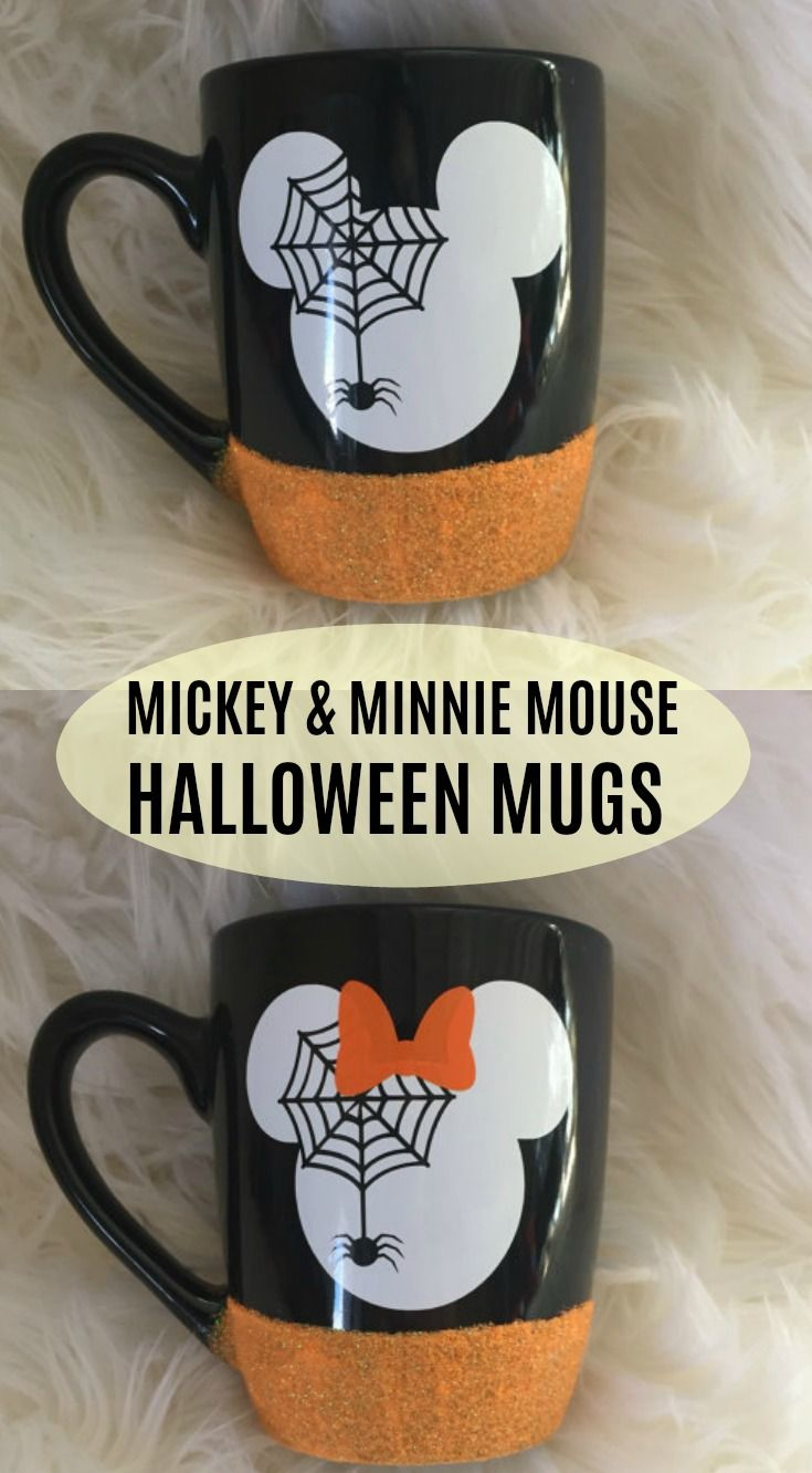 MICKEY  MINNIE HALLOWEEN MUGS! Fall Halloween Coffee Mugs - Minnie Mouse Halloween Decorations