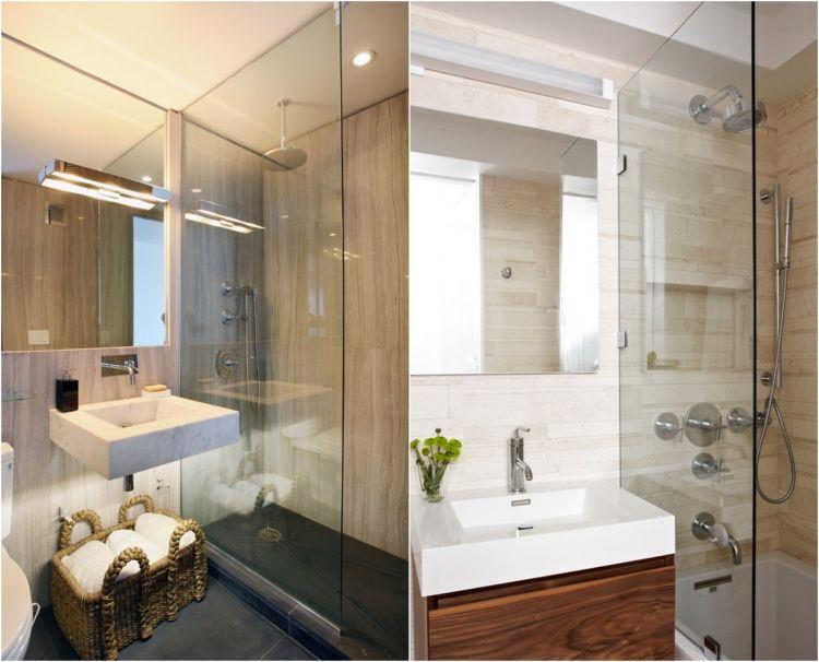 Badezimmerplanung Beispiele ~ Kleines badezimmer groß wirken lassen beispiele bad