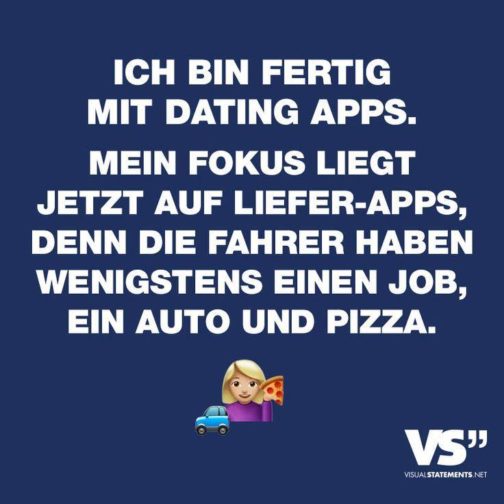 Fertig mit dating-apps