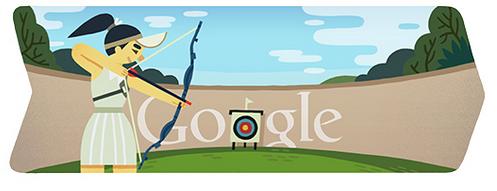 Google Doodle Archery July 28 Google Doodles Archery Doodle 4 Google