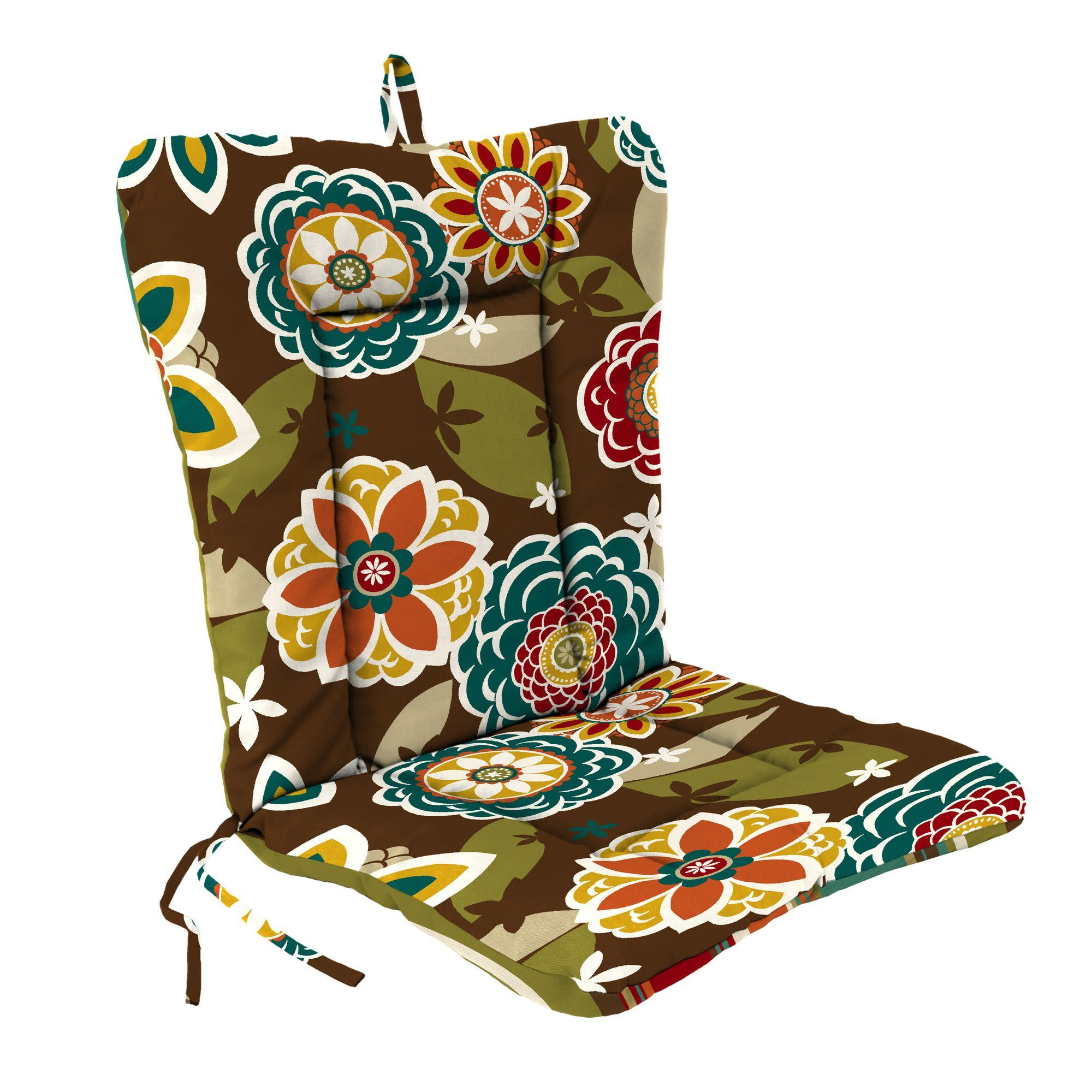 Indoor/Outdoor Dining Chair Cushion Outdoor dining chair