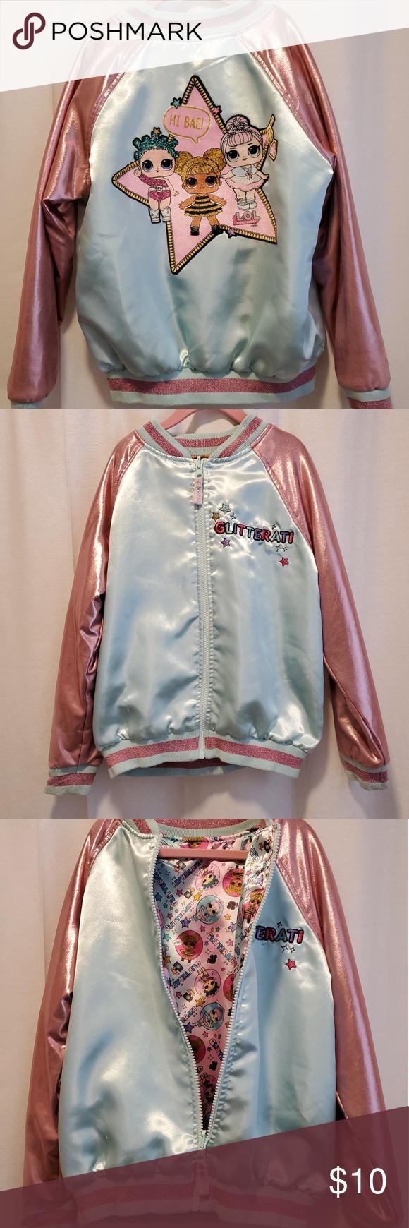 Lol Surprise Reversible Jacket Reversible Jackets Jackets Fashion [ 1740 x 580 Pixel ]