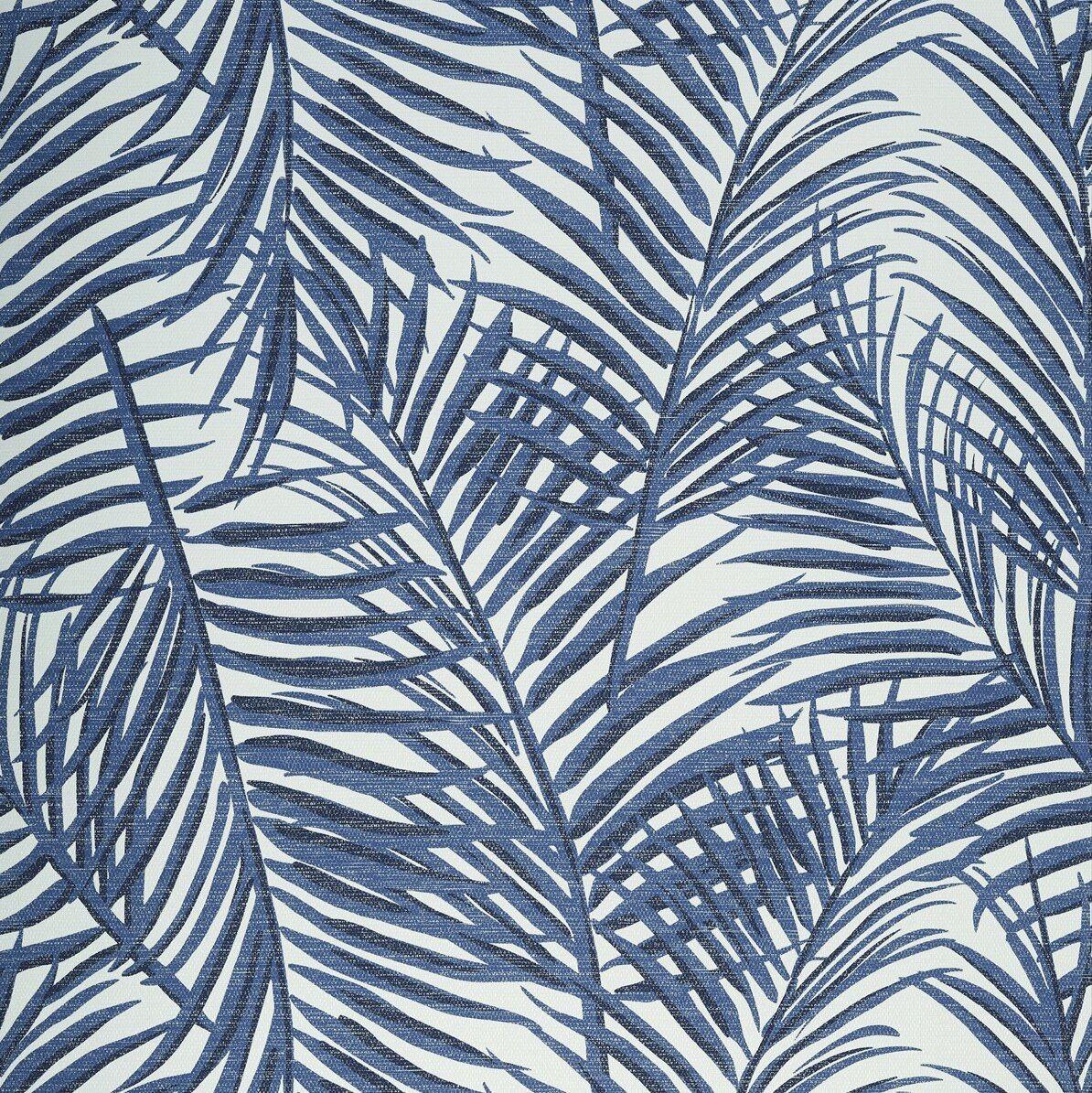 WEST PALM GRASSCLOTH BLUE Palm wallpaper, West palm
