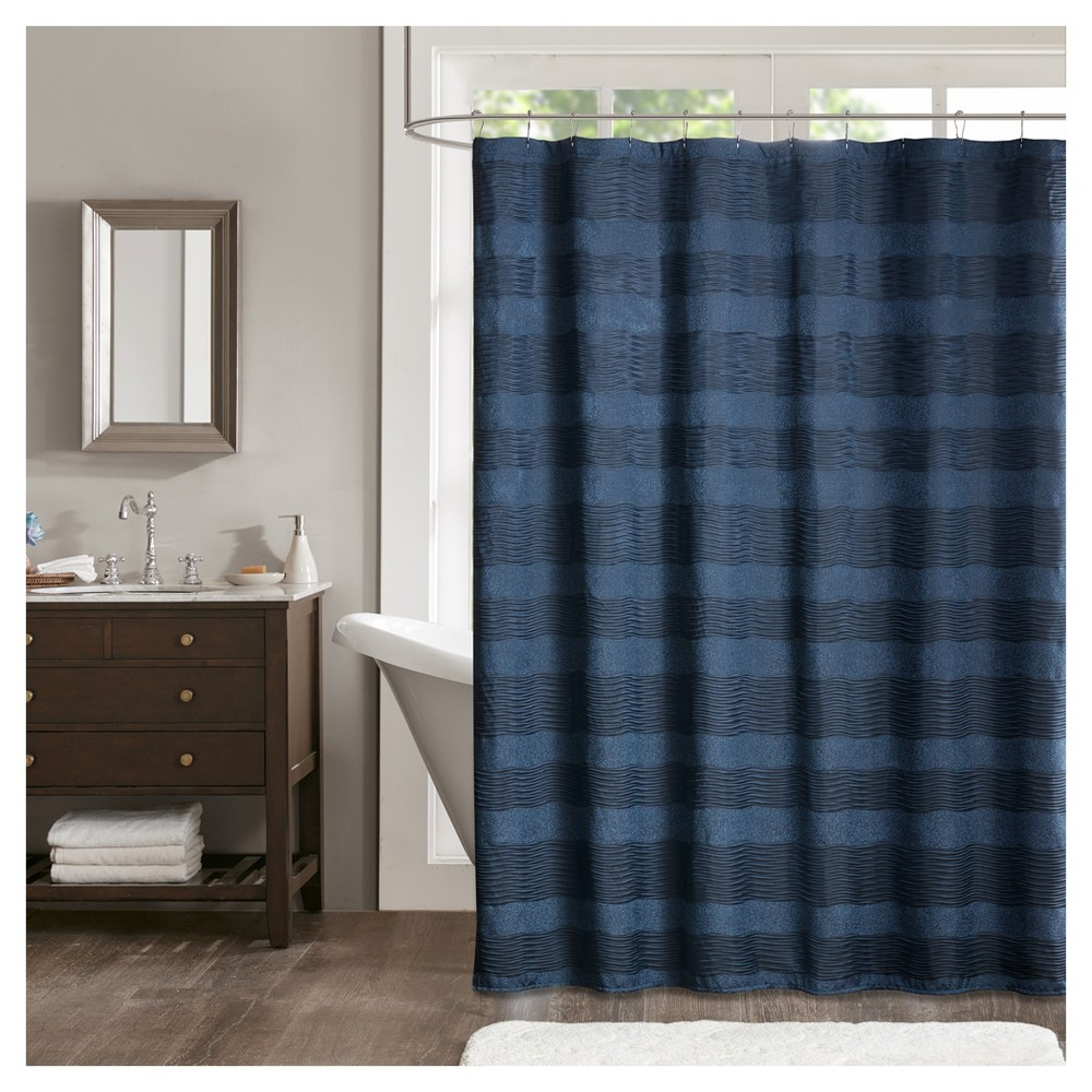 Porter Jacquard Shower Curtain