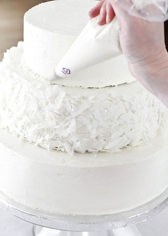 Pin By Paula Deming On Isn T It Romantic Make Your Own Wedding Cakes How To Make Wedding Cake Diy Cake