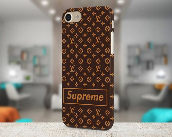 supreme \u0026 louis vuitton brand cover iphone x case samsung case brown