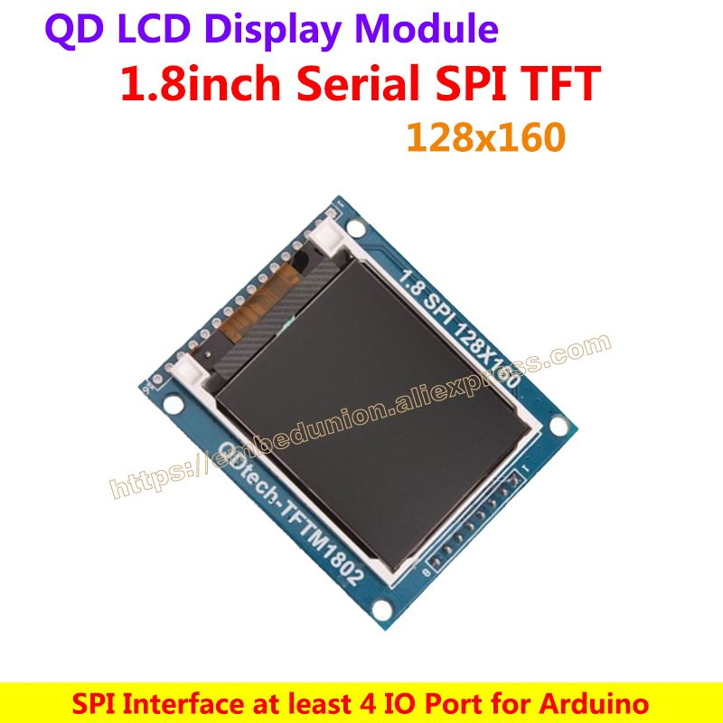 1 8 inch 128X160 TFT LCD Screen Panel SPI LCD Demo Driver