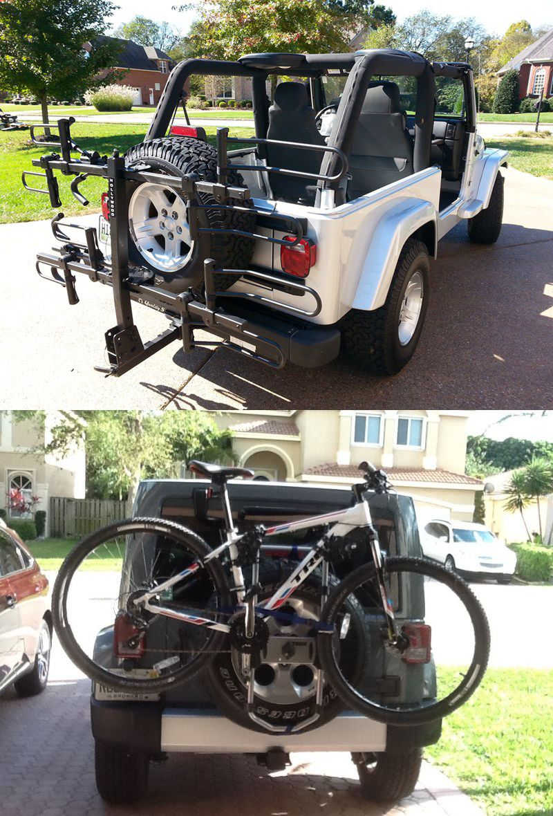 Top 20 Most Popular Jeep Wrangler Bike Racks Based On User