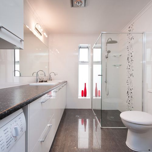 Bathroom Laundry Room Layout: Laundry Bathroom Combo Home Design Ideas, Pictures