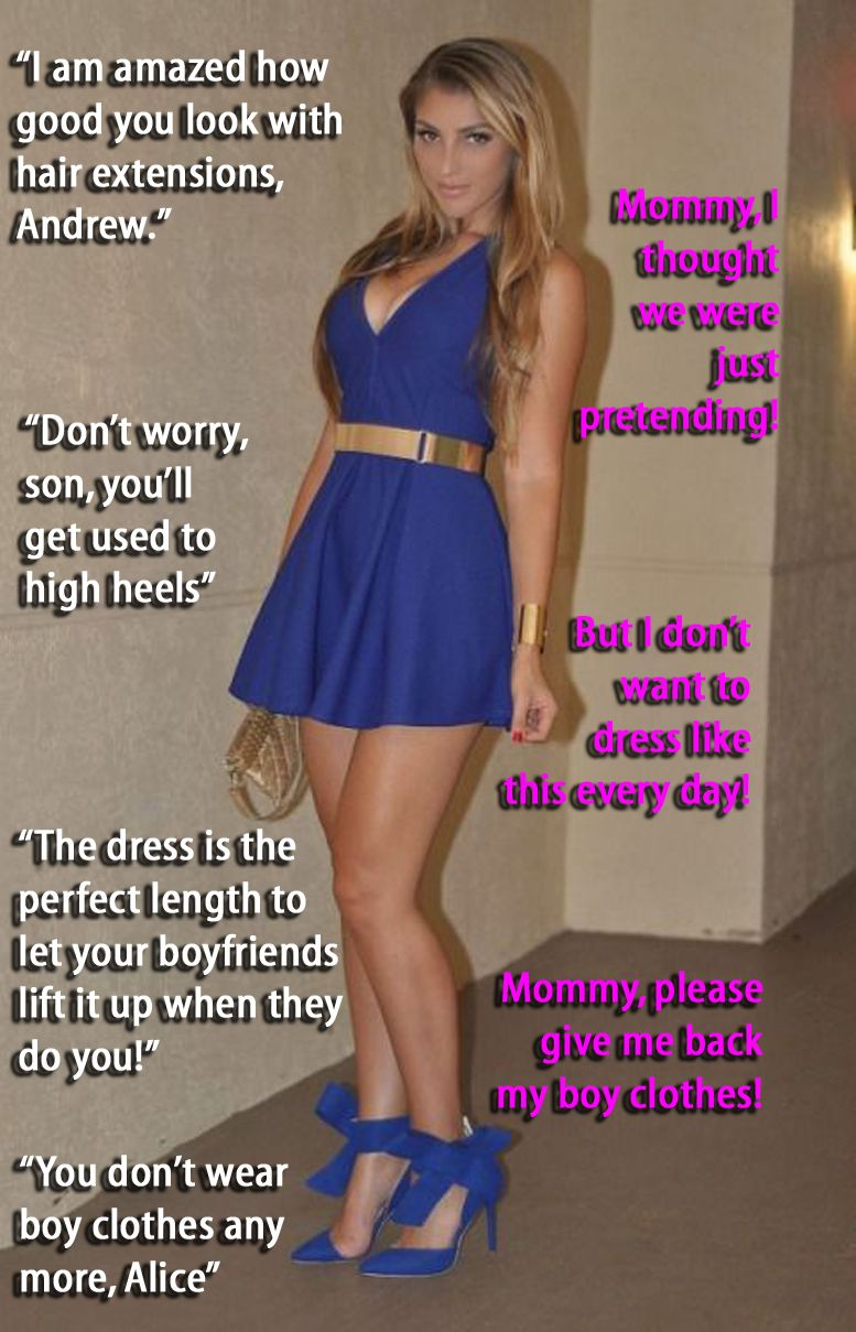 Mommy Knows Best   Tg  Sister Captions, Sissy Boy -3927