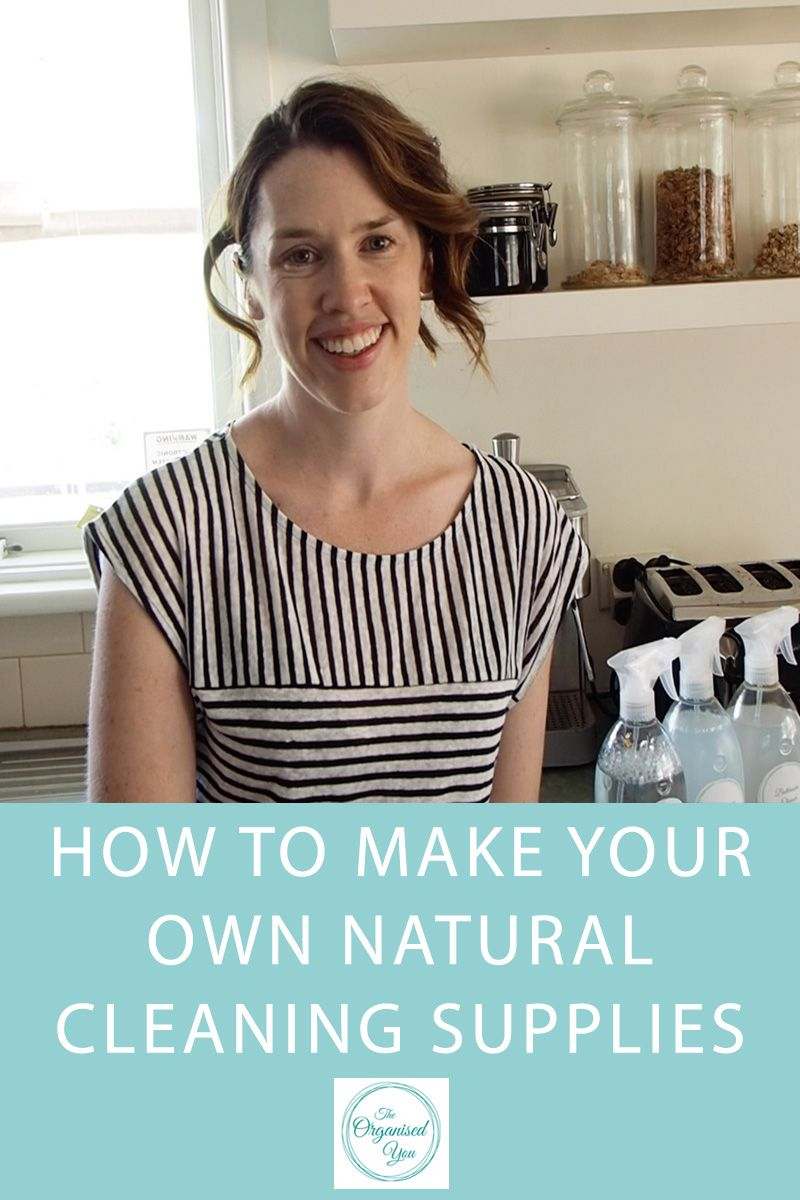 How to make your own natural cleaning supplies | Cleaning supplies ...