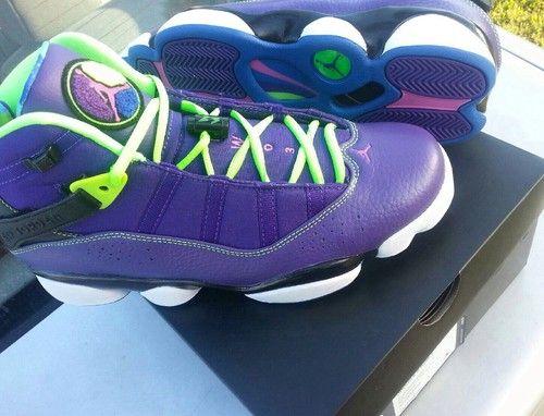 ab1b067a5f1 NEW Nike Air Jordan Six 6 Rings Fresh Prince Bel Air size 11.5 ...