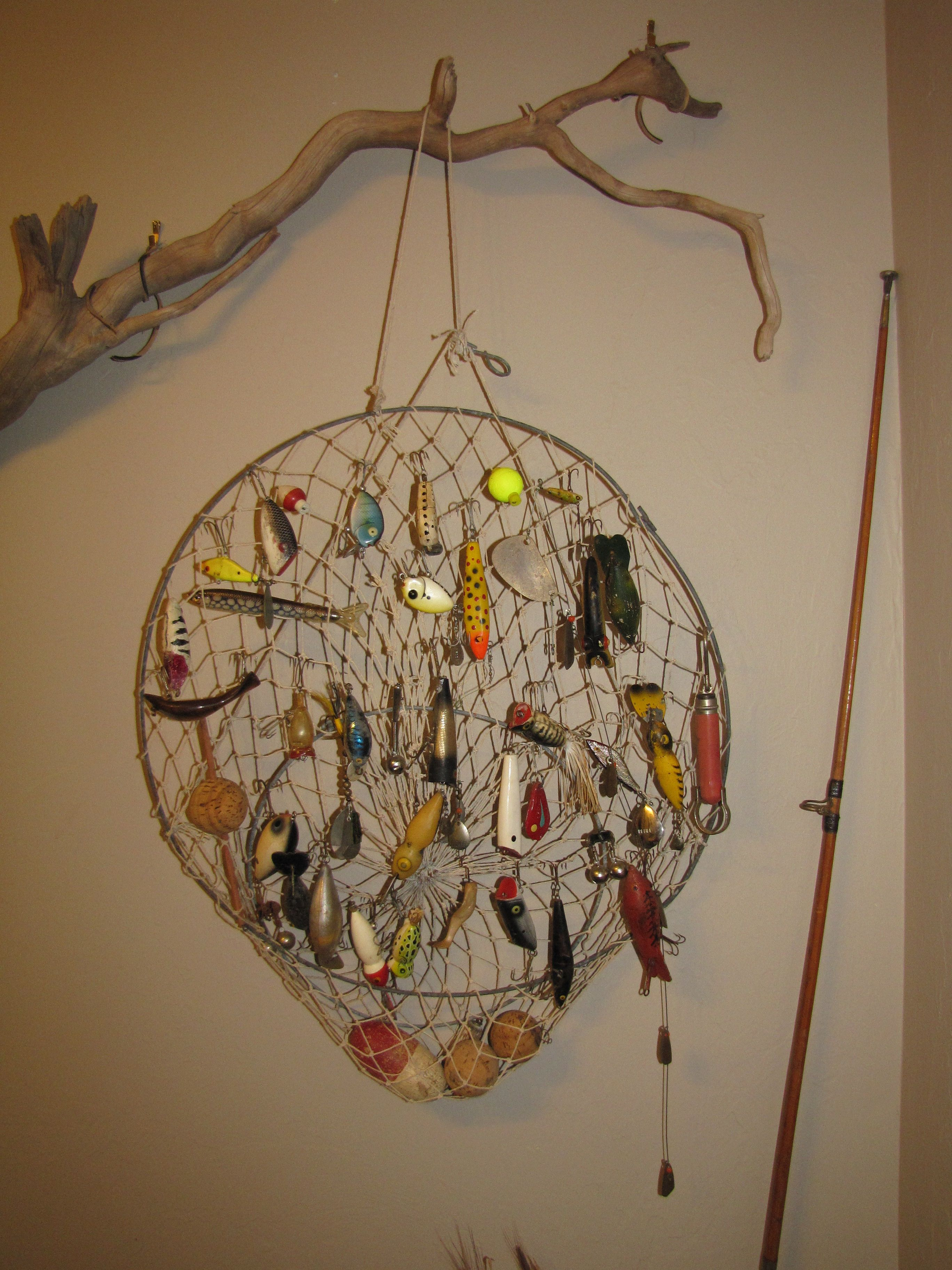 A great way to display those old fishing lures. | DIY Projects ...