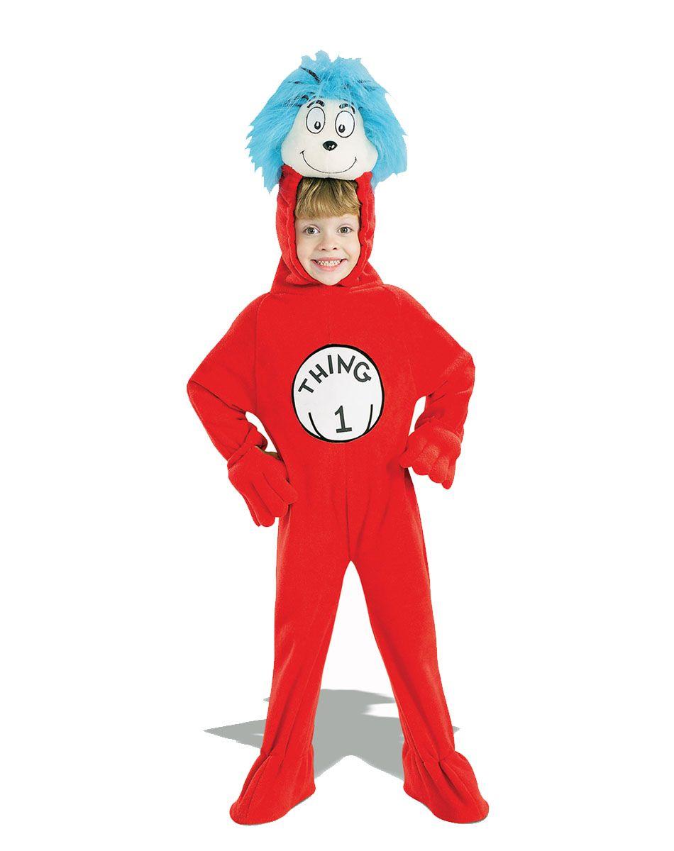 Childu0027s Cat in the Hat Thing 1 Costume Girlu0027s  sc 1 st  Pinterest & diy dr seuss mask | Dr Seuss Costumes | halloween | Pinterest | Dr ...