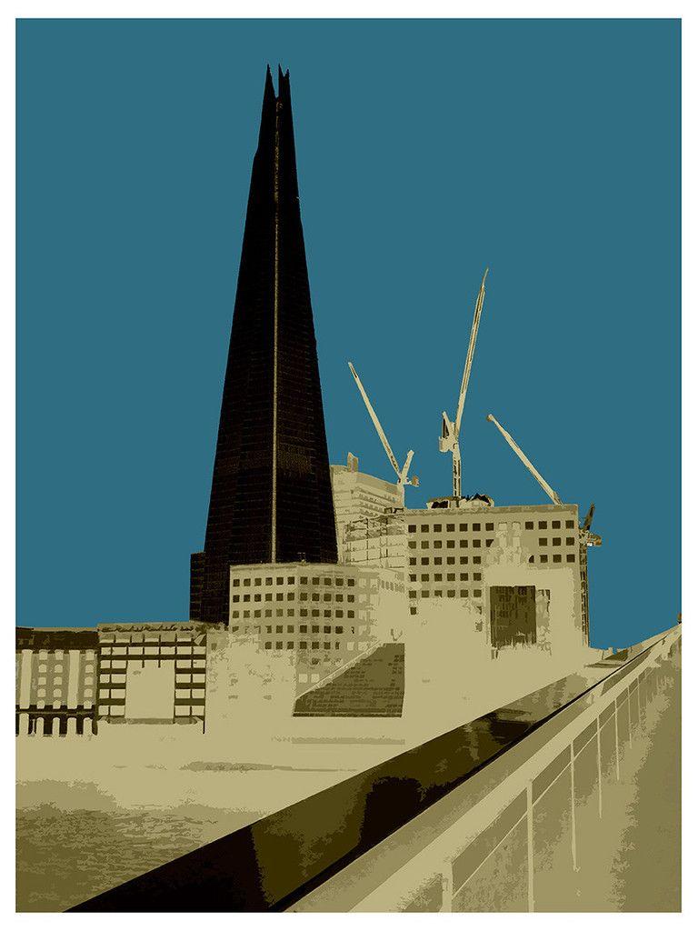 POP Art, London Shard, Online Art Gallery, Big Fat Arts, BFA Gallery, Czar Catstick, Baxter Cane