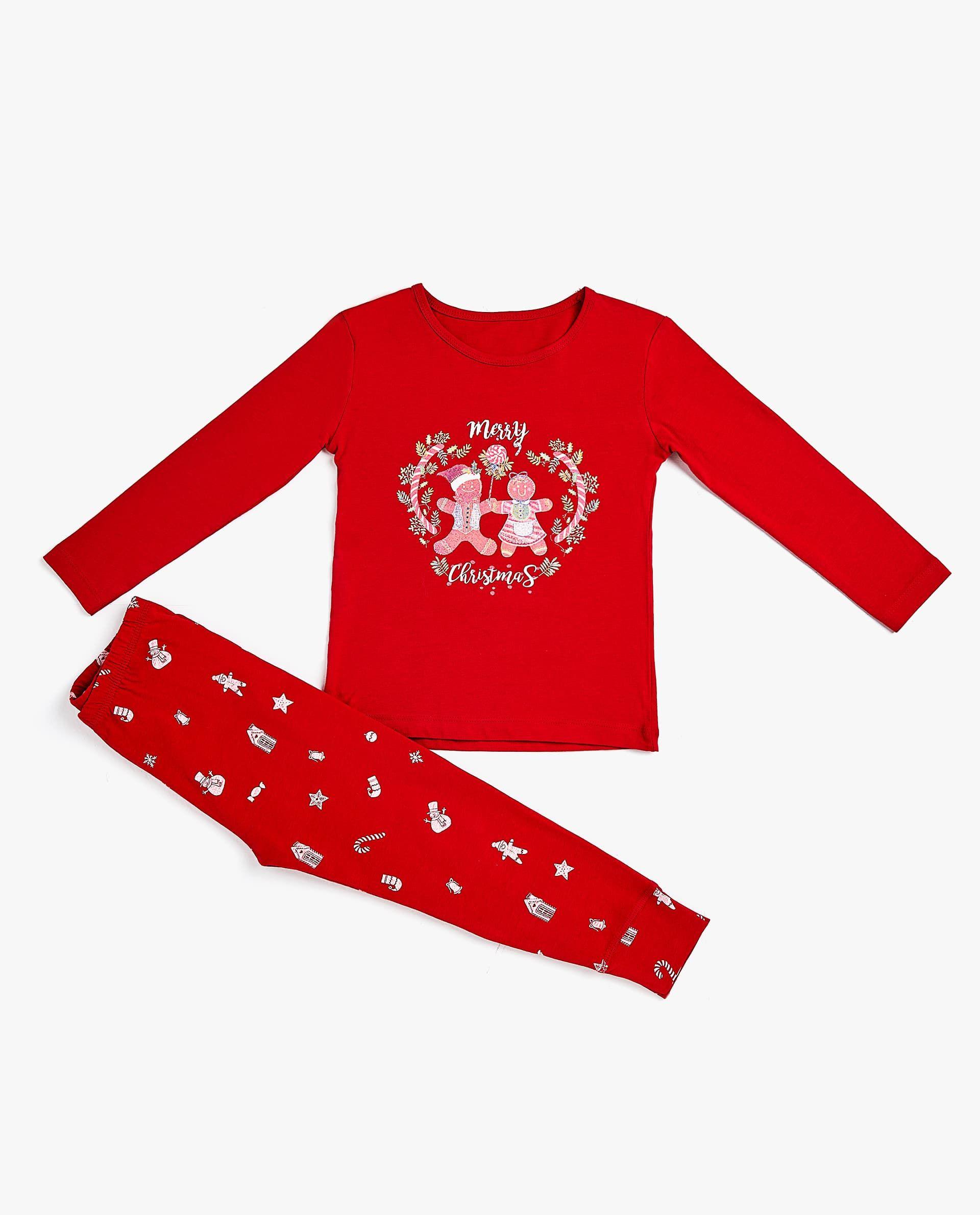 Pijama Galletas Gingerbread Niños Navidad Zara Home España Zara Home Zara Pijama