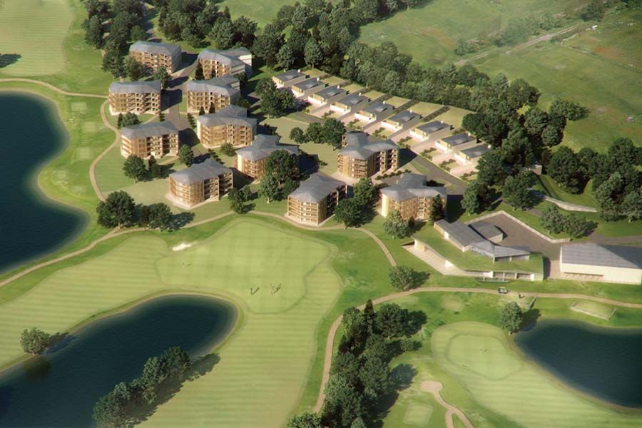 Mikhailovka Resort Masterplan Concept Design For Luxury