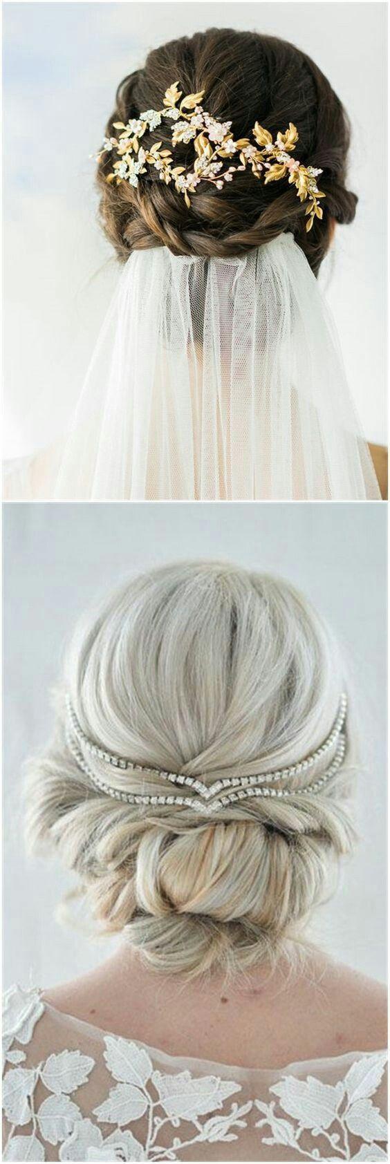 accessoires cheveux coiffure mariage chignon mariée bohème romantique retro, BIJOUX MARIAGE (1 ...