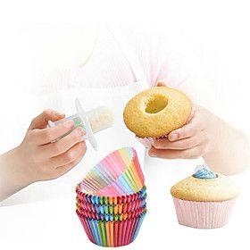 Наборы посуды для выпечки Для торта Для Кекс Для Sandwich Для получения хлеба Пластик БумагаАнтипригарное покрытие Экологичность