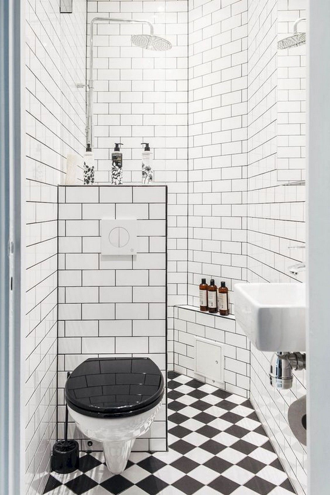 How to Begin Bathroom Renovation for Small Spaces with The Following Ideas #smallbathroomremodel