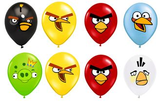 picture relating to Angry Birds Printable Faces named Pin upon Balloons for Something