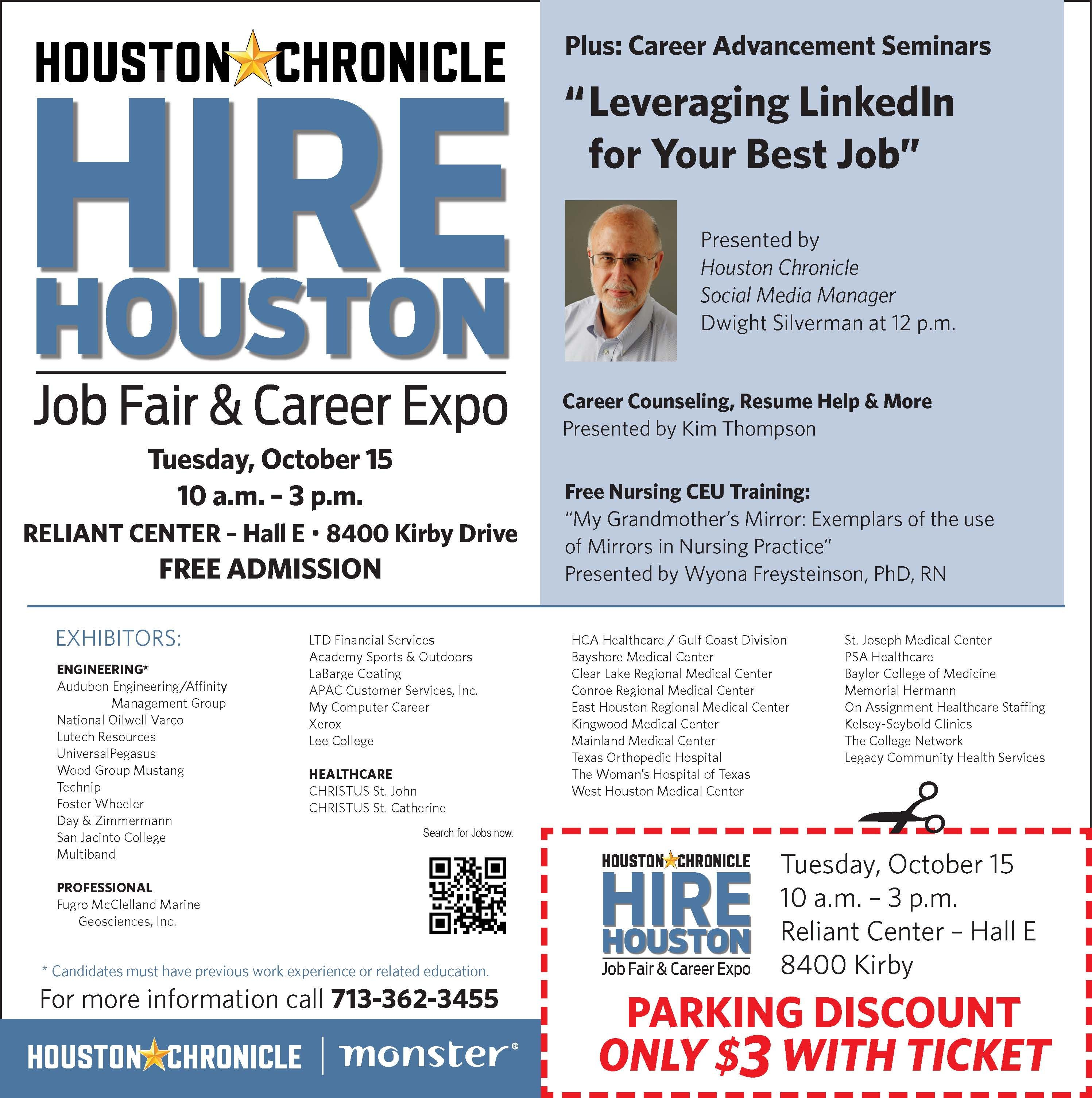 I rebranded and expanded Houston's largest job fair from