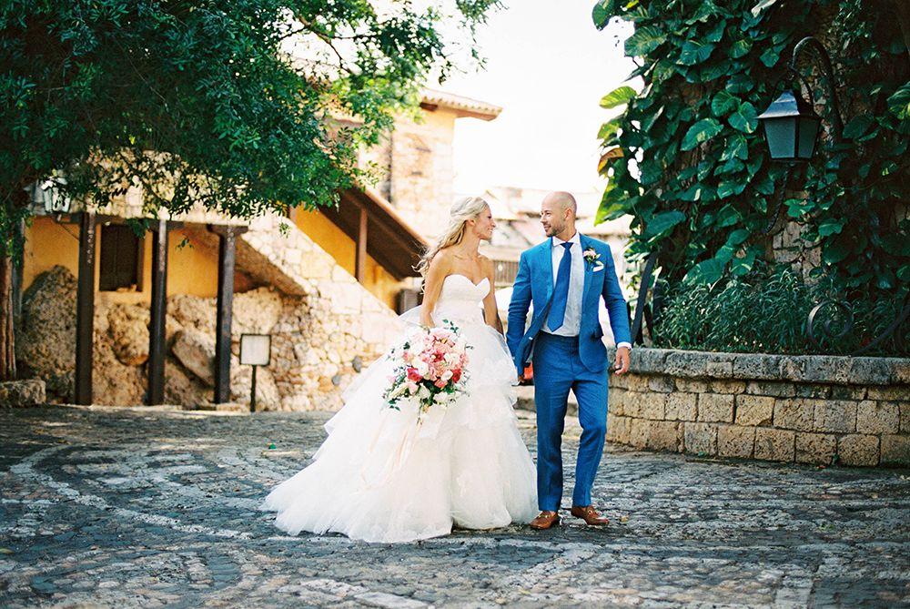 Blooming Destination Wedding In Dominican Republic