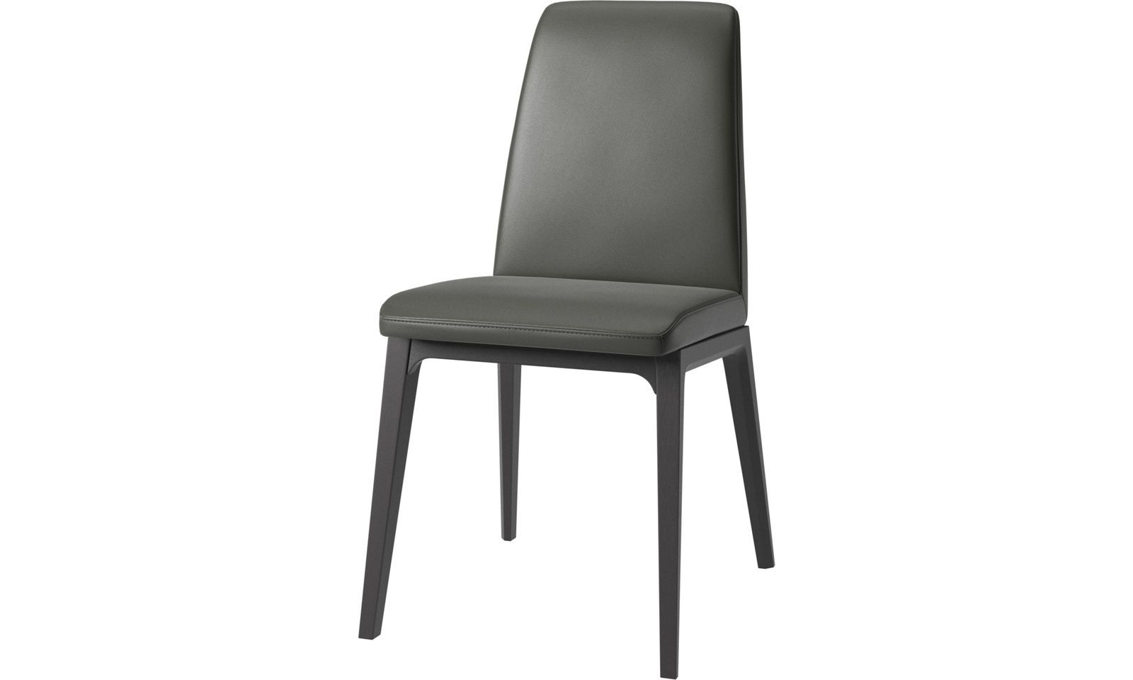 Dining Chairs Lausanne Chair Grey Leather Dining Chairs