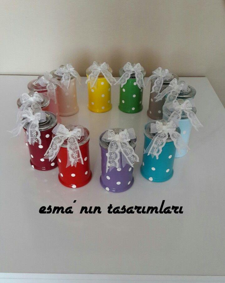 Cam Boyama Kavanoz Boyama Baharat Takımı 12 Lı Rengarenk