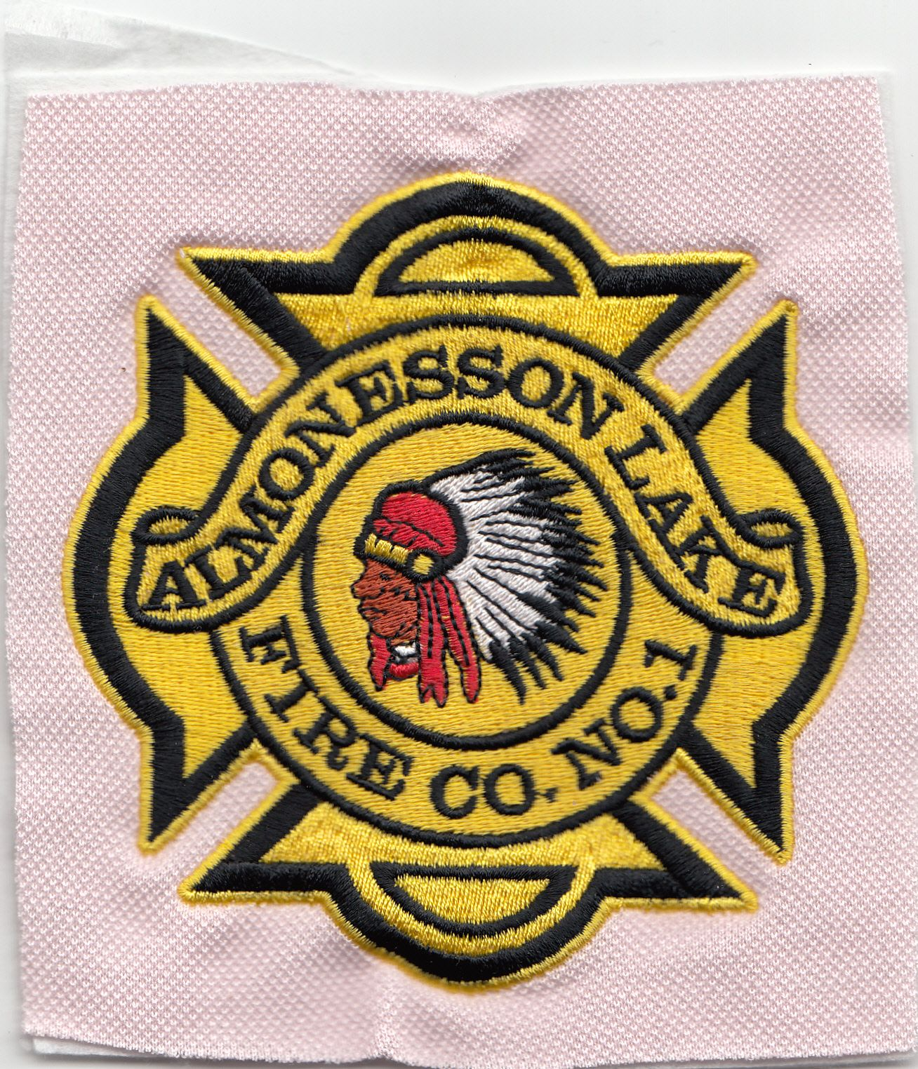 Almonesson Lake Fire Co No1 Embroidery Digitizing Designs 24by7