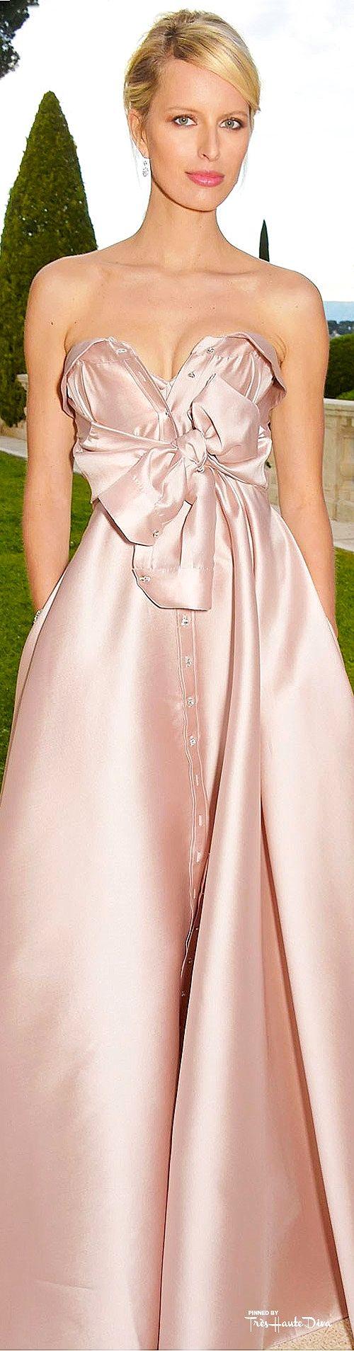 #Karolina #Kurkova in Alexis Mabille Couture ♔ Cannes Film Festival 2015 Red Carpet ♔ Très Haute Diva ♔