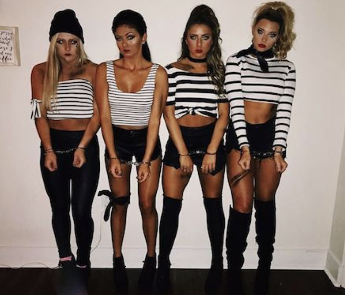 50 Best Friend Group Halloween Costume Ideas For Girlfriends #bffhalloweencostumes