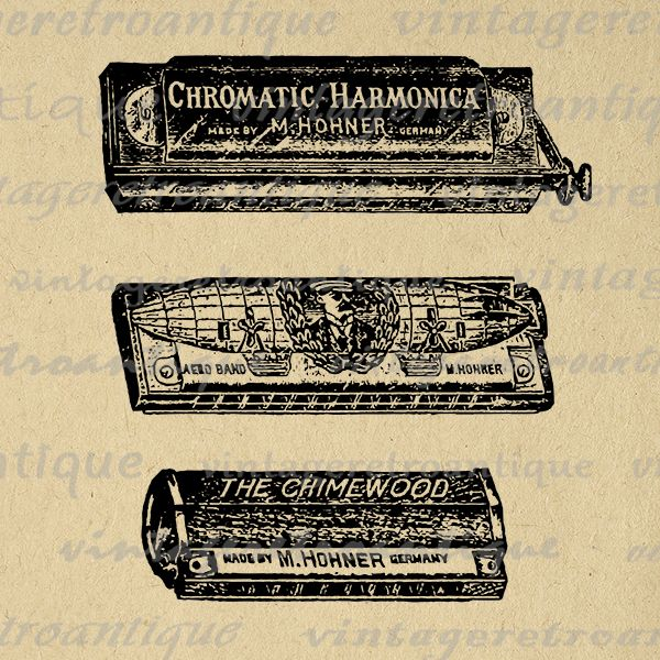 Bluegrass country music for harmonica [download].