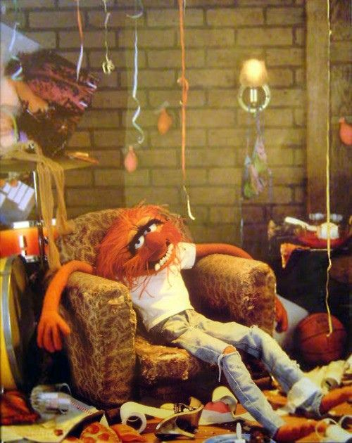 party animal | Muppets, Animal muppet, The muppet show