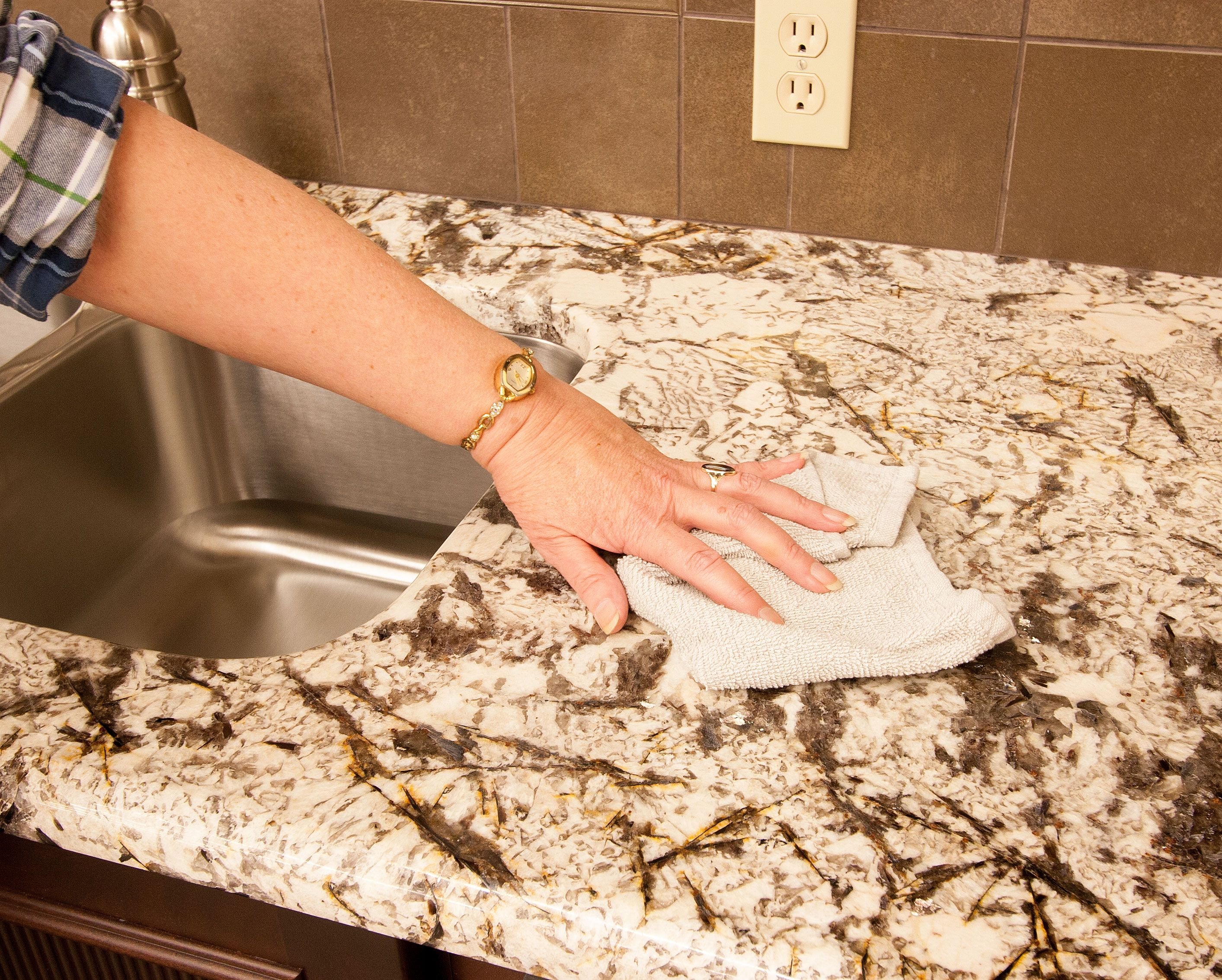 How Do I Care For My New Granite Counter Tops Remember Granite Is A Natural Product Depending On The Color Compo Dishwasher Soap Household Hacks Countertops