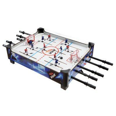 Voit 33in Table Top Rod Hockey Game By Voit 109 98 66961 Features Top Rod Hockey Game Table Material Mdf Particle Table Games Arcade Table Hockey Games