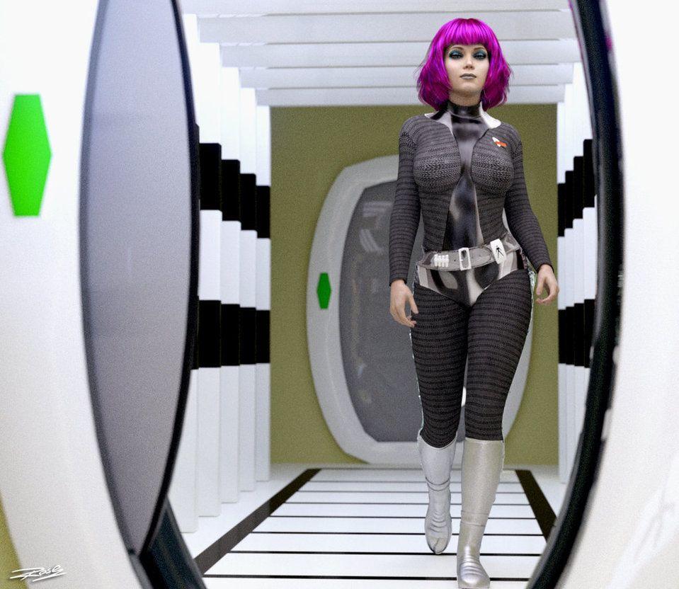 UFO 2KX: Lt. Ellis by RobCaswell on DeviantArt